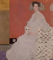Portrait de Fritza von Riedler (Klimt Gustav) - Muzeo.com