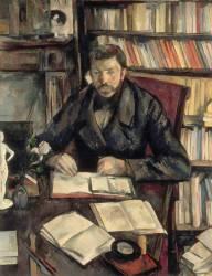 Portrait de Gustave Geffroy (Paul Cézanne) - Muzeo.com