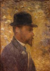 Portrait de Henri Le Sidaner (1862-1939) (Marie Duhem) - Muzeo.com