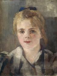 Portrait de jeune fille (Roll Alfred) - Muzeo.com