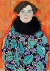 Portrait de Johanna Staude (Gustav Klimt) - Muzeo.com