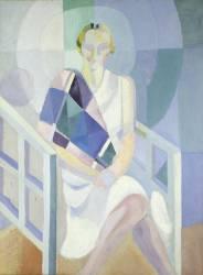 Portrait de Madame Heim (Robert Delaunay) - Muzeo.com
