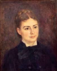 Portrait de madame Paul Bérard (Auguste Renoir) - Muzeo.com