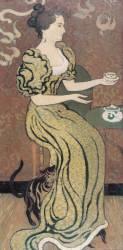 Portrait de Madame Ranson avec son chat (Maurice Denis) - Muzeo.com