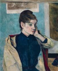 Portrait de Madeleine Bernard (Paul Gauguin) - Muzeo.com
