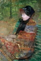 Portrait de Mademoiselle C. Lydia Cassatt (Cassatt Mary) - Muzeo.com