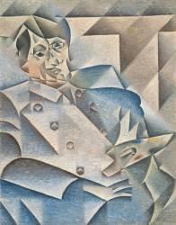Portrait de Pablo Picasso (Gris Juan) - Muzeo.com