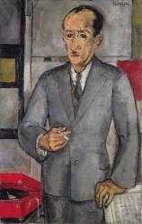 Portrait de Piet Mondrian (Hordijk Gerardus) - Muzeo.com