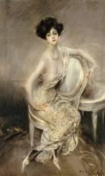 Portrait de Rita de Acosta Lydig (Giovanni Boldini) - Muzeo.com