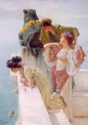 Position avantageuse (Lawrence Alma-Tadema) - Muzeo.com