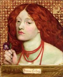 Regina Cordium (Dante Gabriel Rossetti) - Muzeo.com