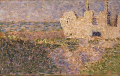 Ruines à Grandcamp (Seurat Georges) - Muzeo.com