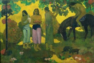 Rupe Rupe (la cueillette des fruits) (Paul Gauguin) - Muzeo.com