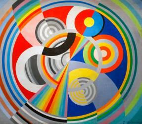 Rythme n° 1 (Robert Delaunay) - Muzeo.com