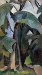 Saint-Cloud. Etude de paysage (Robert Delaunay) - Muzeo.com