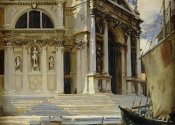 Santa Maria della Salute, Venise (John Singer Sargent) - Muzeo.com