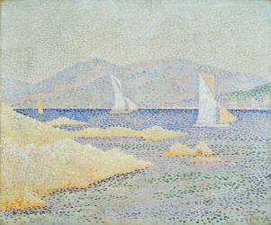 Scène côtière (Paul Signac) - Muzeo.com