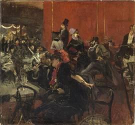 Scène de fête (Boldini Giovanni) - Muzeo.com