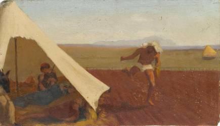 Scène orientale (Edgar Degas) - Muzeo.com