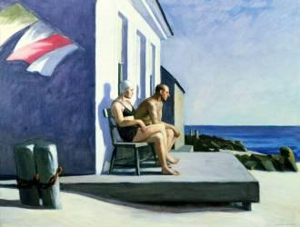 Sea watchers (Hopper Edward) - Muzeo.com