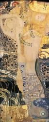 Serpent d'eau I (Gustav Klimt) - Muzeo.com