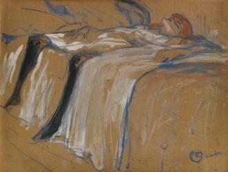 Seule (Henri de Toulouse-Lautrec) - Muzeo.com