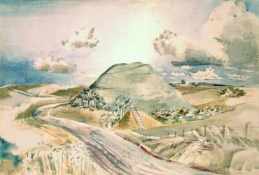 Silbury Hill (Paul Nash) - Muzeo.com