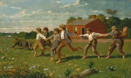 Snap the Whip (Winslow Homer) - Muzeo.com