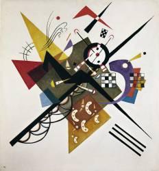 Sur blanc n°2 (Wassily Kandinsky) - Muzeo.com