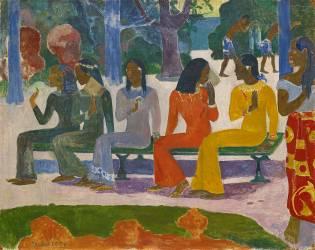 Ta Matete (Nous n'irons pas au marché aujourd'hui) (Paul Gauguin) - Muzeo.com
