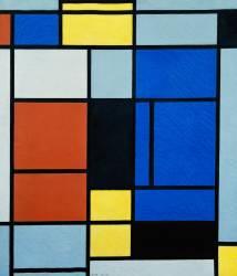 Tableau N°1 (Mondrian Piet) - Muzeo.com