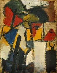 Tête (Theo Van Doesburg) - Muzeo.com