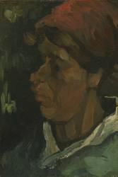 Tête de paysanne hollandaise (Vincent van Gogh) - Muzeo.com