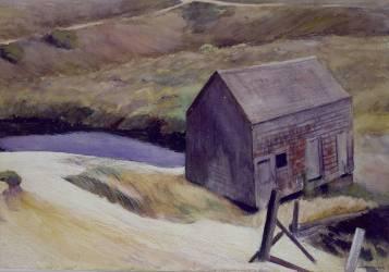 The Lewis Barn (Hopper Edward) - Muzeo.com