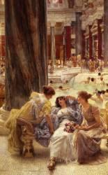 Thermae Antoninianae (Lawrence Alma-Tadema) - Muzeo.com