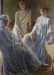 Trois Femmes (Umberto Boccioni) - Muzeo.com