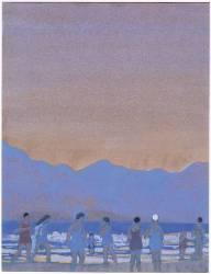 Un Bourg breton (Este Florence) - Muzeo.com