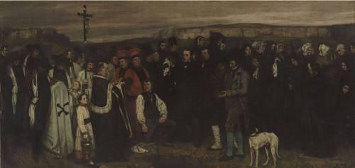 Un enterrement à Ornans (Gustave Courbet) - Muzeo.com