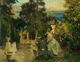 Un jardin à Corfu (John Singer Sargent) - Muzeo.com