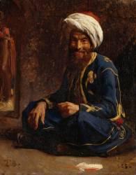 Un turco (Léon Bonnat) - Muzeo.com