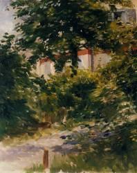 Une allée dans le jardin de Rueil (Edouard Manet) - Muzeo.com
