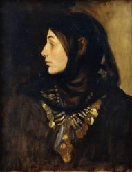 Une femme Fellah (John Singer Sargent) - Muzeo.com
