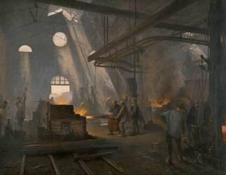 Une forge (Fernand Cormon) - Muzeo.com