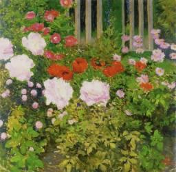 Une haie de rose (Koloman Moser) - Muzeo.com