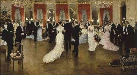 Une soirée (Jean Béraud) - Muzeo.com