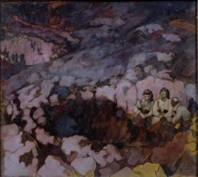Une tranchée (André Devambez) - Muzeo.com