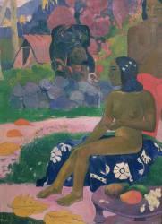 Vairaumati Tei Oa (Son nom est Vairaumati) (Paul Gauguin) - Muzeo.com