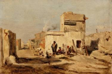 Village oriental (Félix Ziem) - Muzeo.com