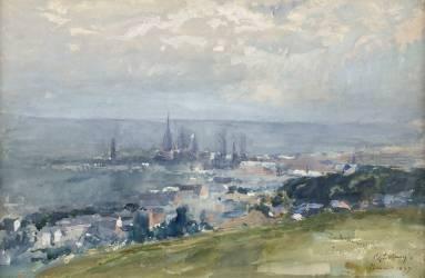 Vue de Rouen (Lebourg Albert) - Muzeo.com