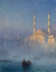 Vue du port de Constantinople (Aivazovsky Ivan) - Muzeo.com